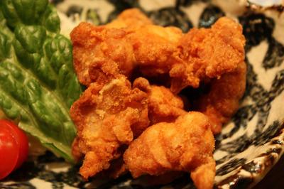 富士鶏の軟骨揚げ
