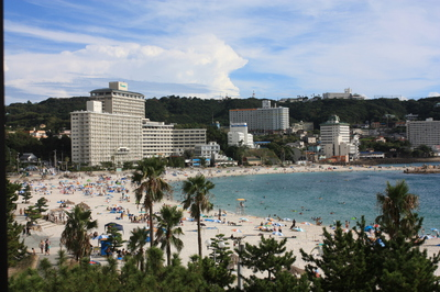 2011年夏 南紀白浜旅行 「白良浜海水浴場~白浜温泉 白良荘グランドホテル」