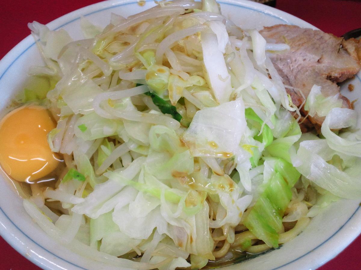 ラーメン二郎 環七一之江店 2011/08/29