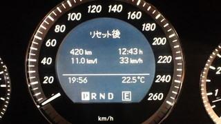 W204の給油記録 2011/08/20