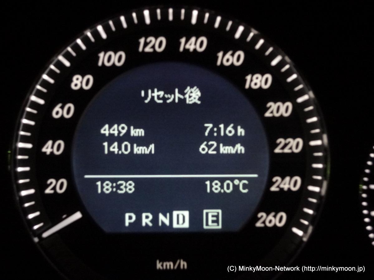 W204給油記録 2011/11/06