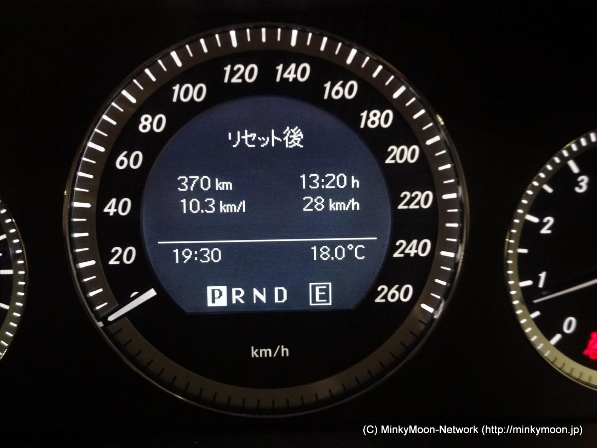 W204給油記録 2011/11/20