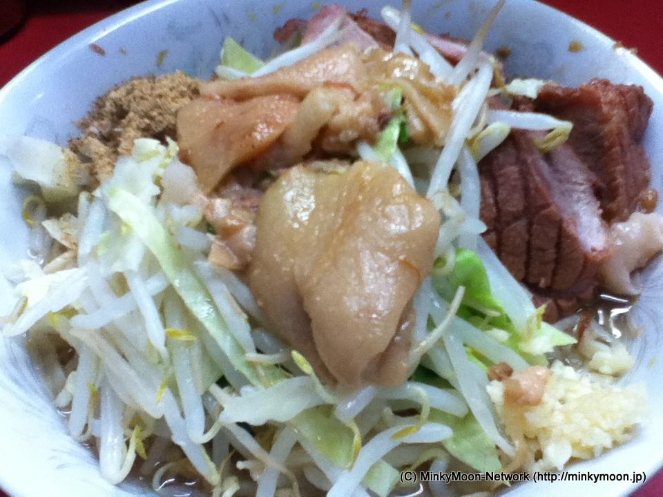 ラーメン二郎 環七一之江店 2012年1杯目
