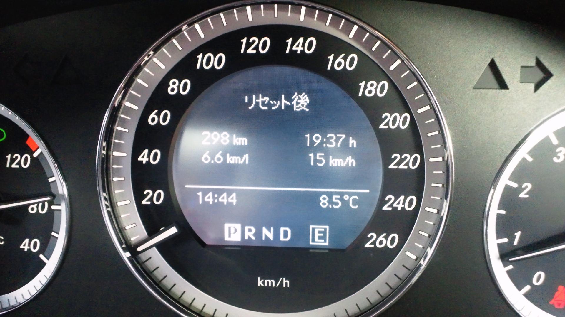 W204給油記録 2012/01/14