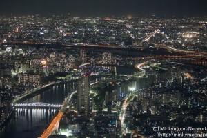 隅田川と江戸川の合流