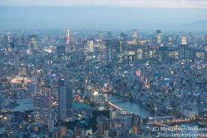 隅田川と東京タワー