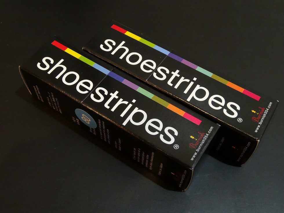 革靴の味が変わるshoestripesを試してみました