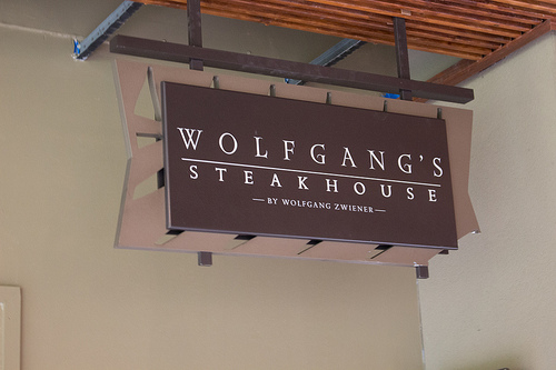 Wolfgang's Steakhouseのハッピーアワー