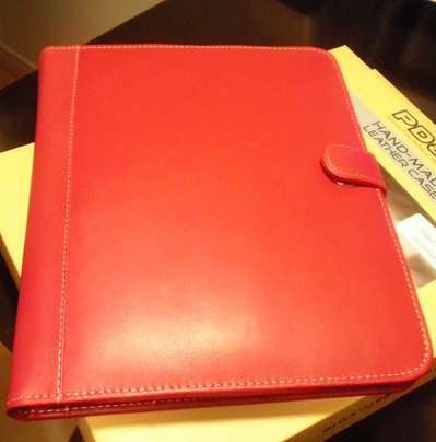 iPadケース PDairが届いたので感想