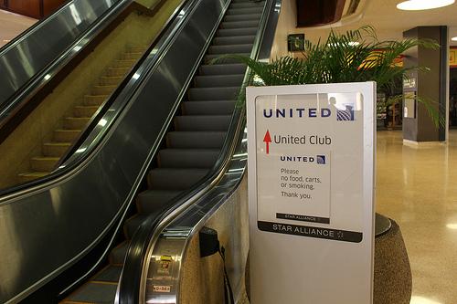ホノルル空港UAのラウンジとANAビジネスクラスでの帰国便