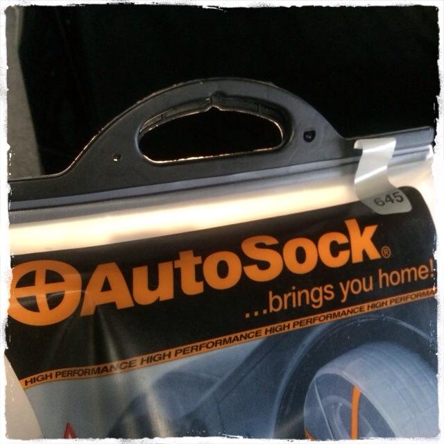 東京の大雪でオートソック(AutoSock)が大活躍