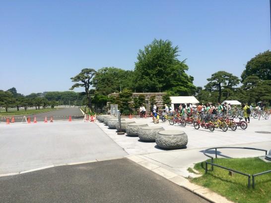 パレスサイクリング 自転車教室の会場
