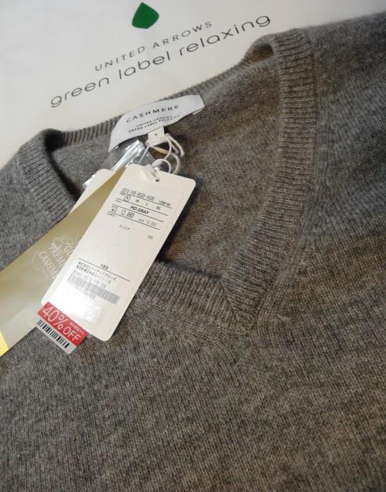 GLRのカシミアセーター