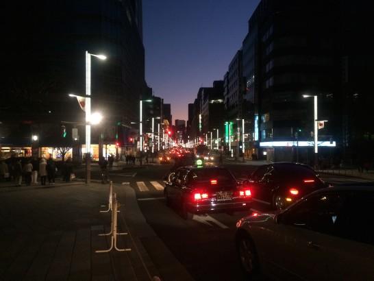日本橋からの夜景