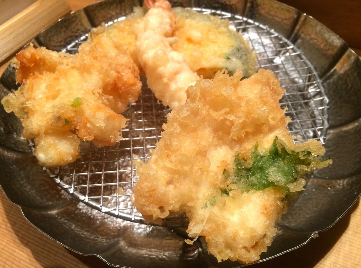 三越前 天ぷらめし 金子半之助 安くて美味しい天麩羅定食が食べられる