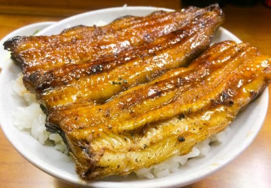 青物横丁 丸富の鰻丼