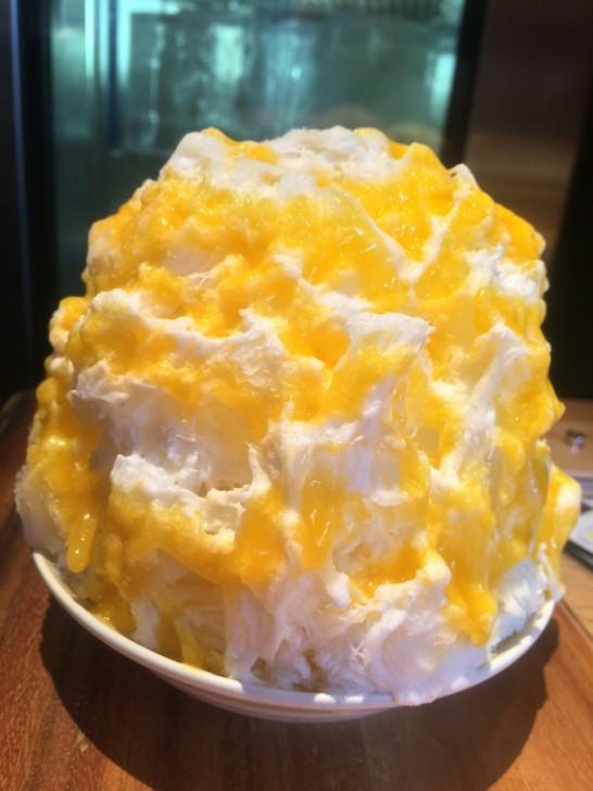 yeloのマンゴーラッシーかき氷