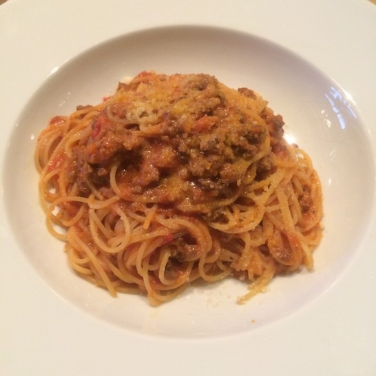 @tokyo grill harbourのパスタ