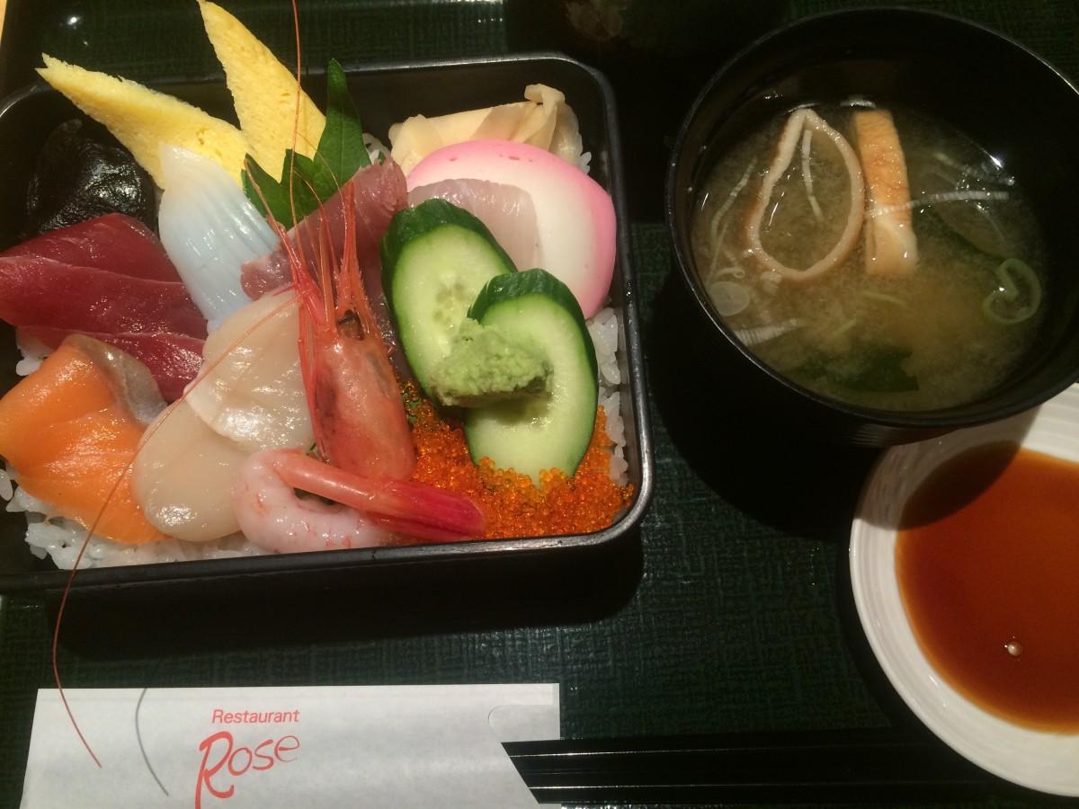 日本橋高島屋 レストランRoseでお昼ご飯