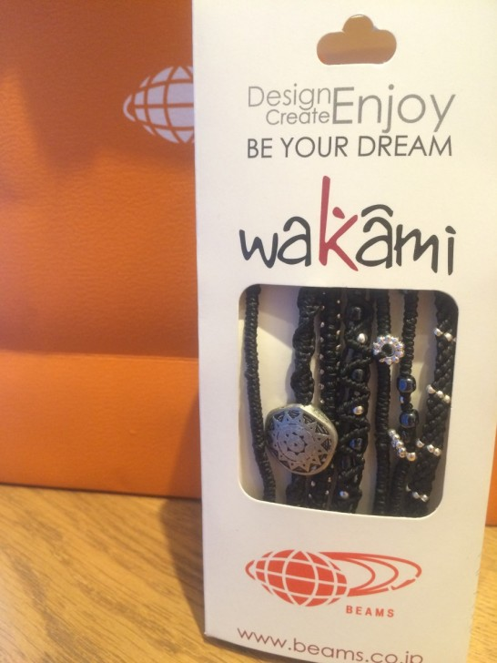 wakamiのブレスレット