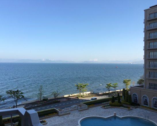 エクシブ琵琶湖の眺め