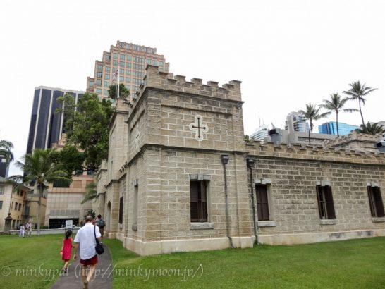 ハワイ イオラニ宮殿