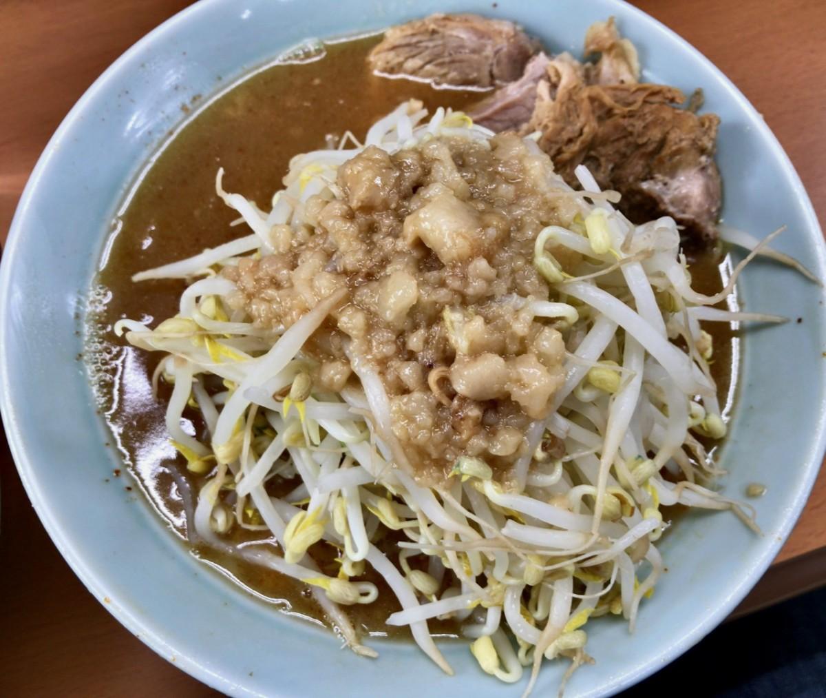 二郎インスパイア 立川マシマシ5号店でつけ麺に初挑戦