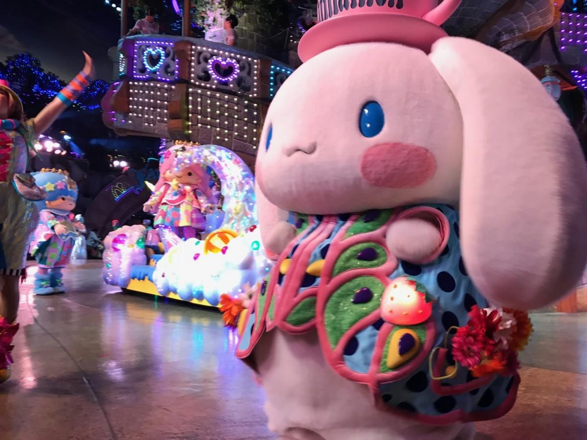 サンリオピューロランドのパレードはピューロパスでの楽チン鑑賞がオススメ