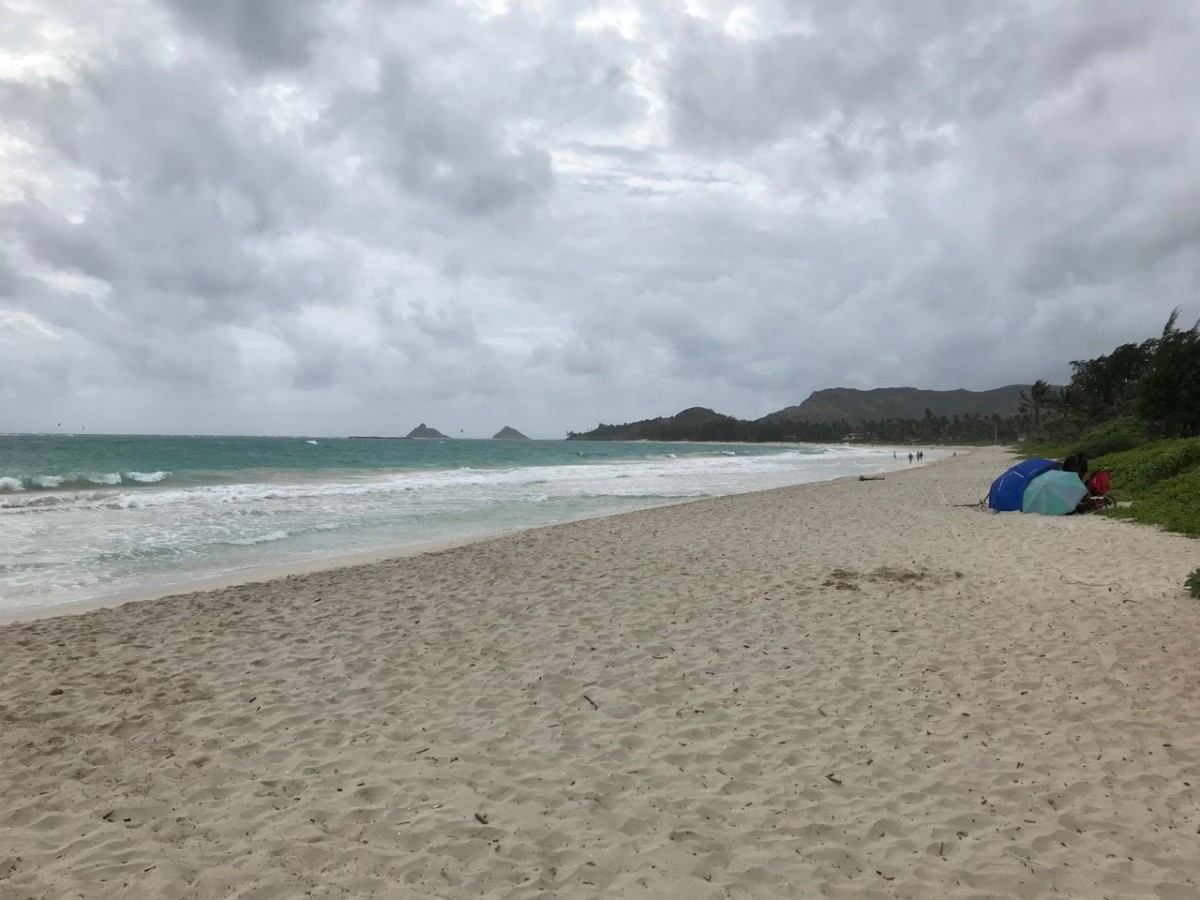 穴場のカラマビーチパークで海水浴