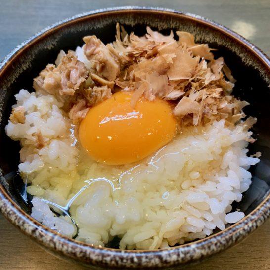 卵かけご飯 210円