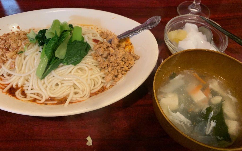 孤独のグルメを追う旅 中国家庭料理 楊 「担々麺」