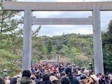 伊勢神宮での年末詣・初詣