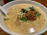 渋谷 麺飯食堂なかじま 思わず汁まで飲み干す担々麺