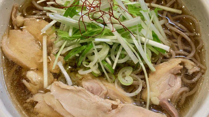 新橋 最上川 出汁の透明度抜群な肉そば